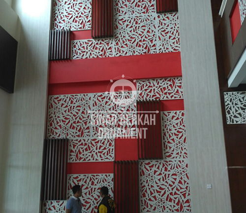 hiasan dinding ornamen, wallpaper ornamen, wallpanel ornamen, jual wallpaper ornamen